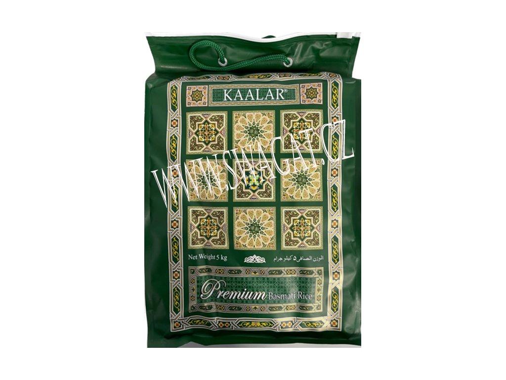Basmati rýže Premium Super White, KAALAR 5Kg