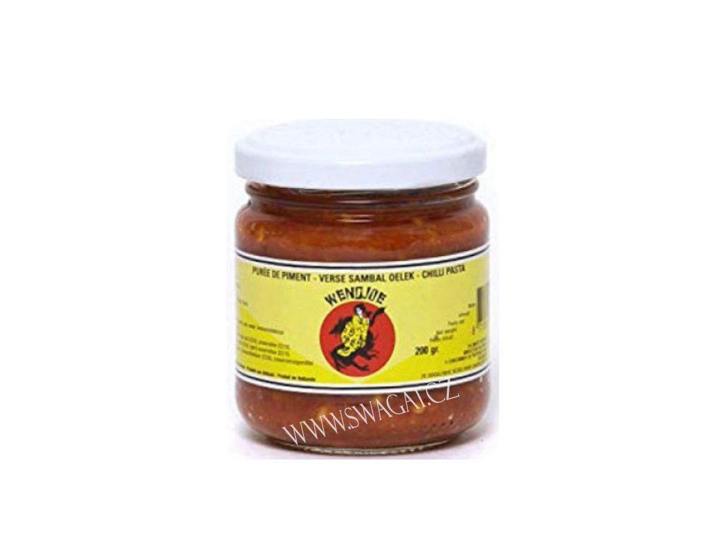 Chilli pasta Sambal Oelek, WENDJOE 200g