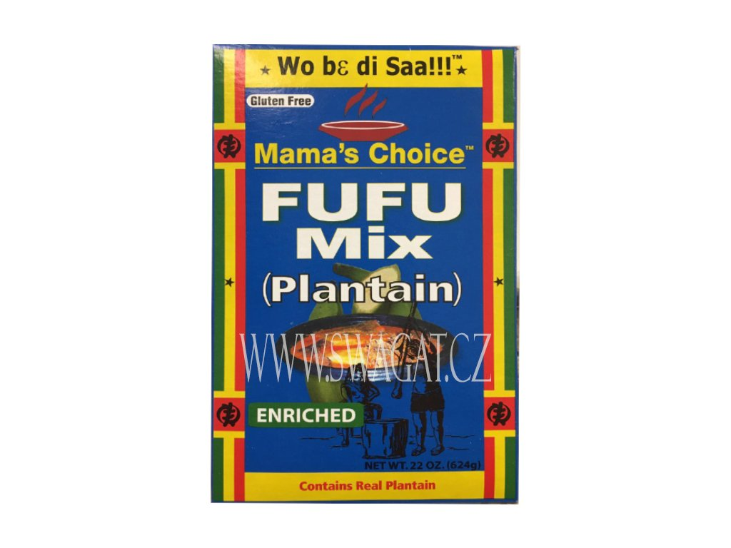FUFU směs Plantain, 624g