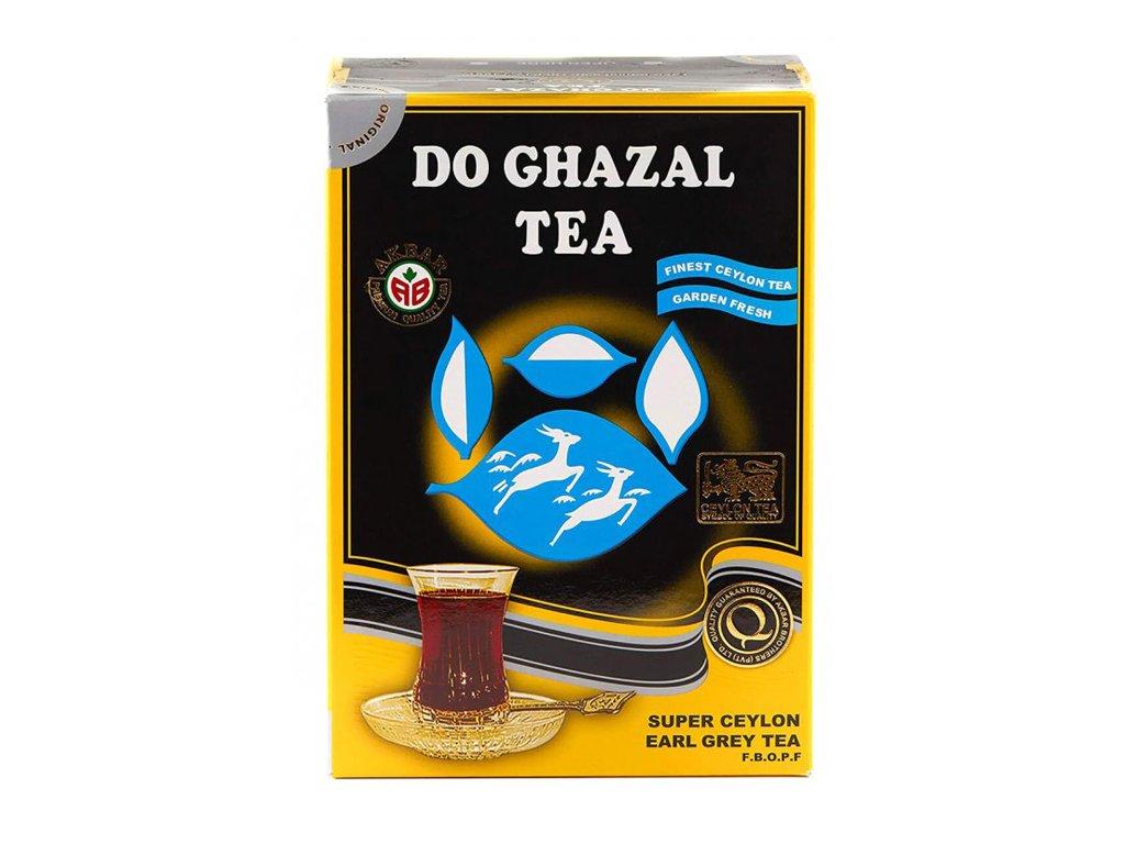 Ceylonský čaj Earl Gray, DO GHAZAL 500g