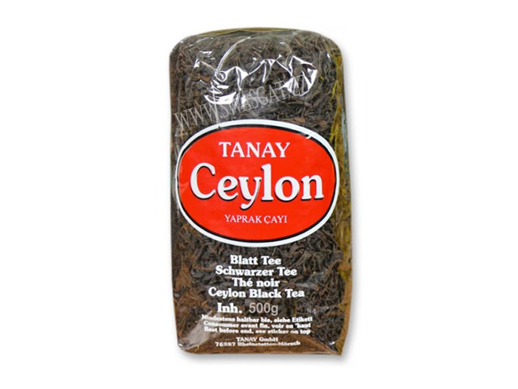 Turecký čaj cejlonský (Ceylon Yaprak Cayi), TANAY 500g