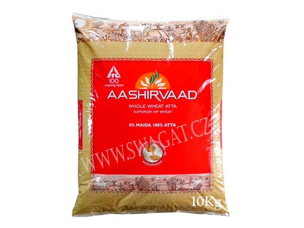 Atta-Celozrnná pšeničná mouka, AASHIRVAAD 10kg