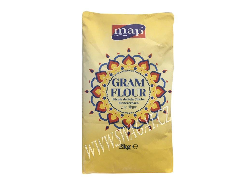 Besan - cizrnová mouka (Gram Flour), MAP 2Kg