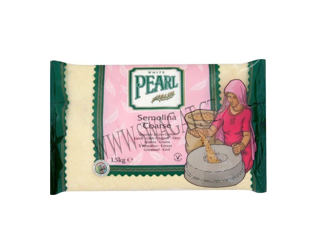 Suji - mouka semolinová hrubá (Semolina Flour Coarse), WP 1,5Kg