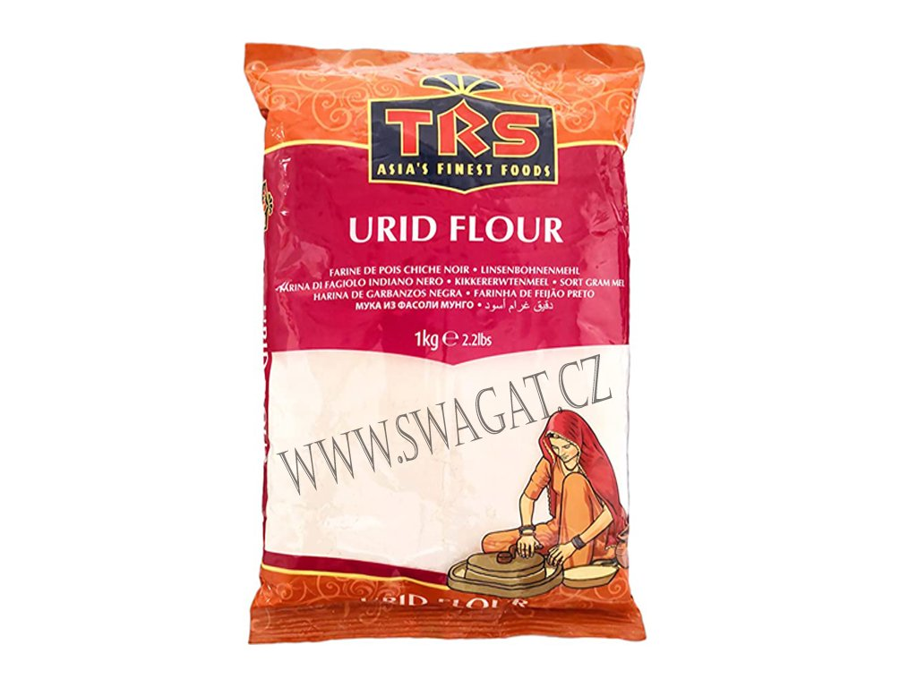 Mouka z fazolí Mung (Urid Flour), TRS 1Kg