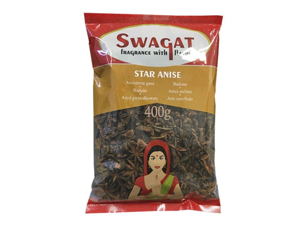 Badyán (Star Aniseed), SWAGAT 400g
