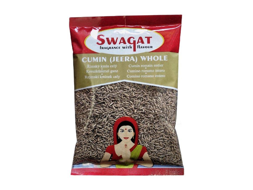 Jeera - římský kmín (Cumin Seeds), SWAGAT 400g