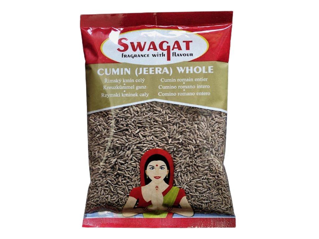 Jeera - římský kmín (Cumin Seeds), SWAGAT 1Kg