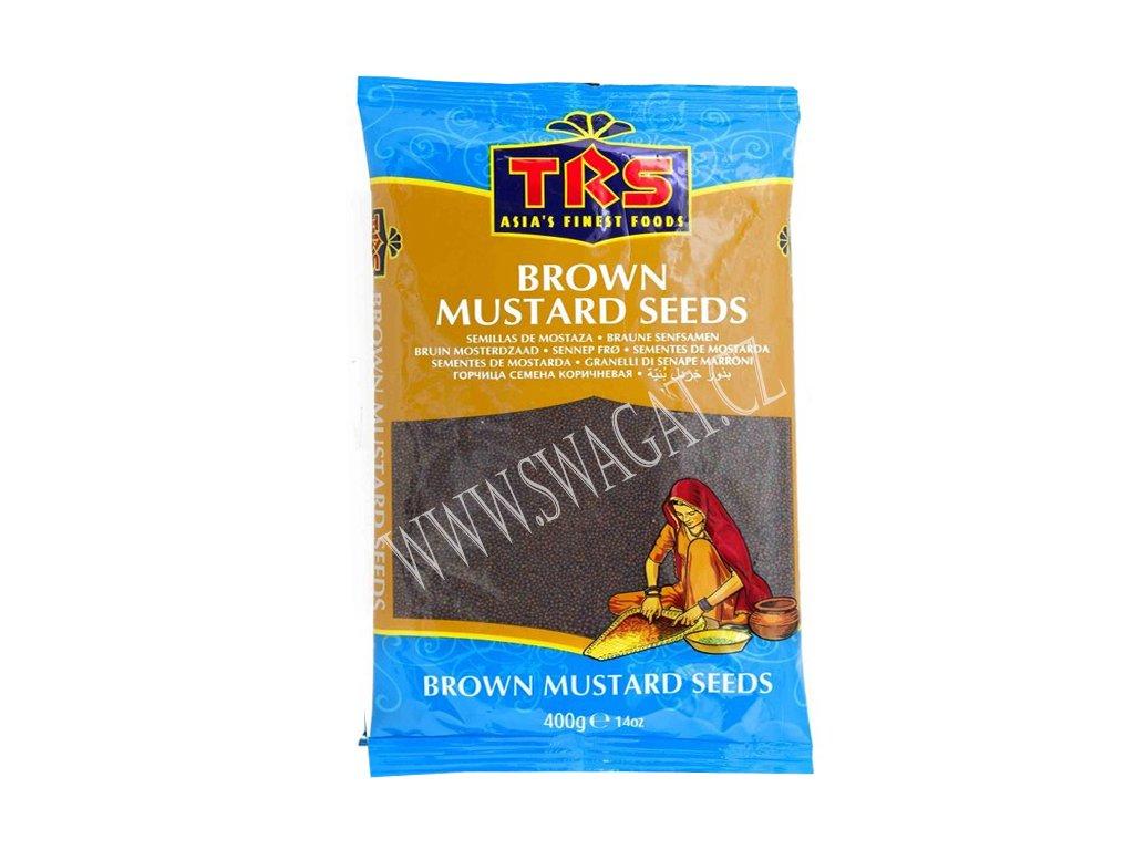 Hořčičné semínko hnědé (Mustard Seeds Brown), TRS 400g