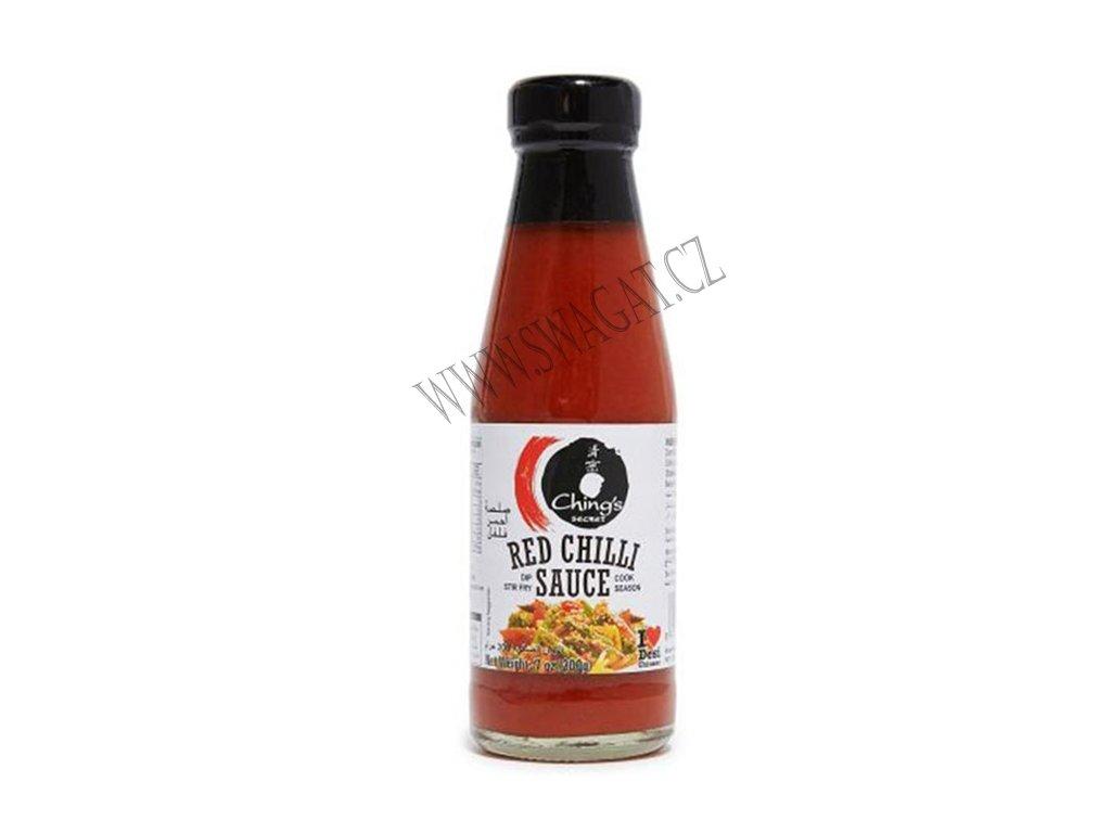 Červená chilli omáčka, CHING'S SECRET 200g
