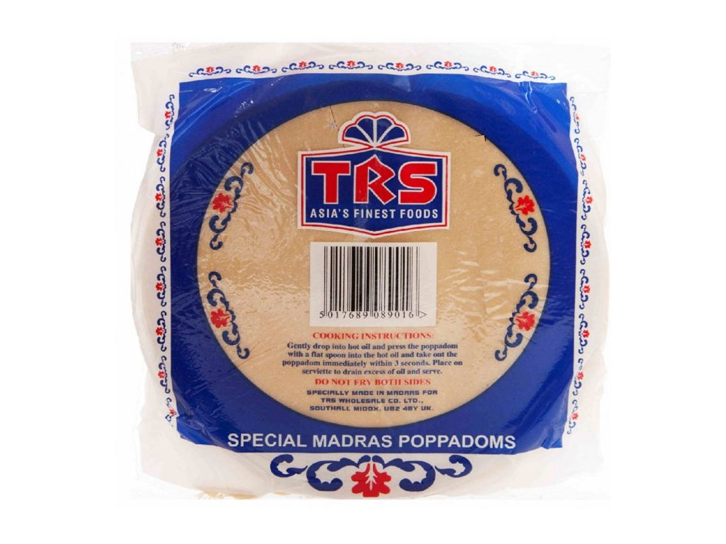 Madras Plain Papad, WP 200g