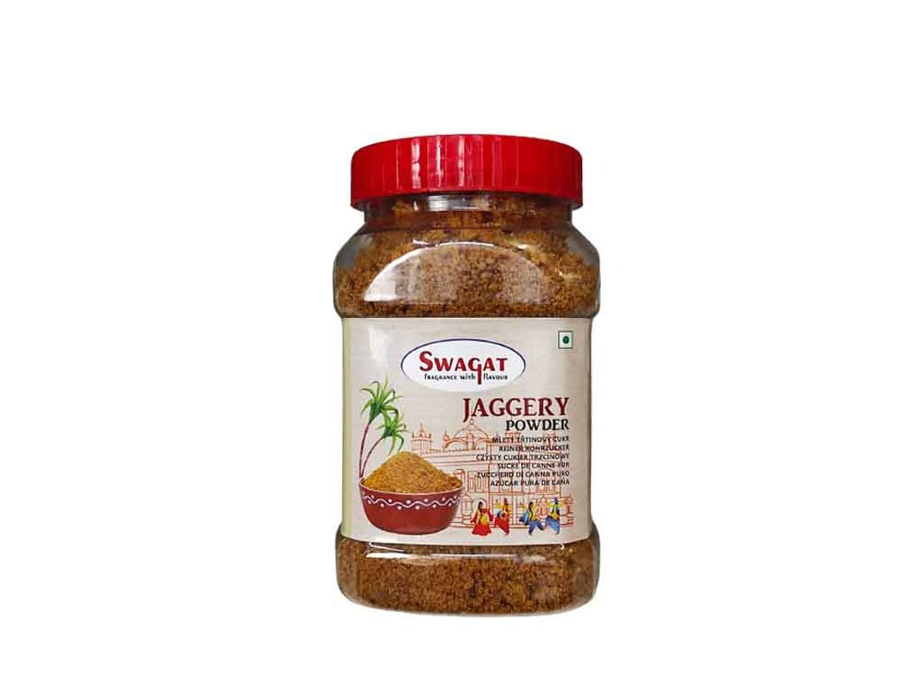 SWAGAT Jaggery Mletý třtinový cukr, SWAGAT 500g