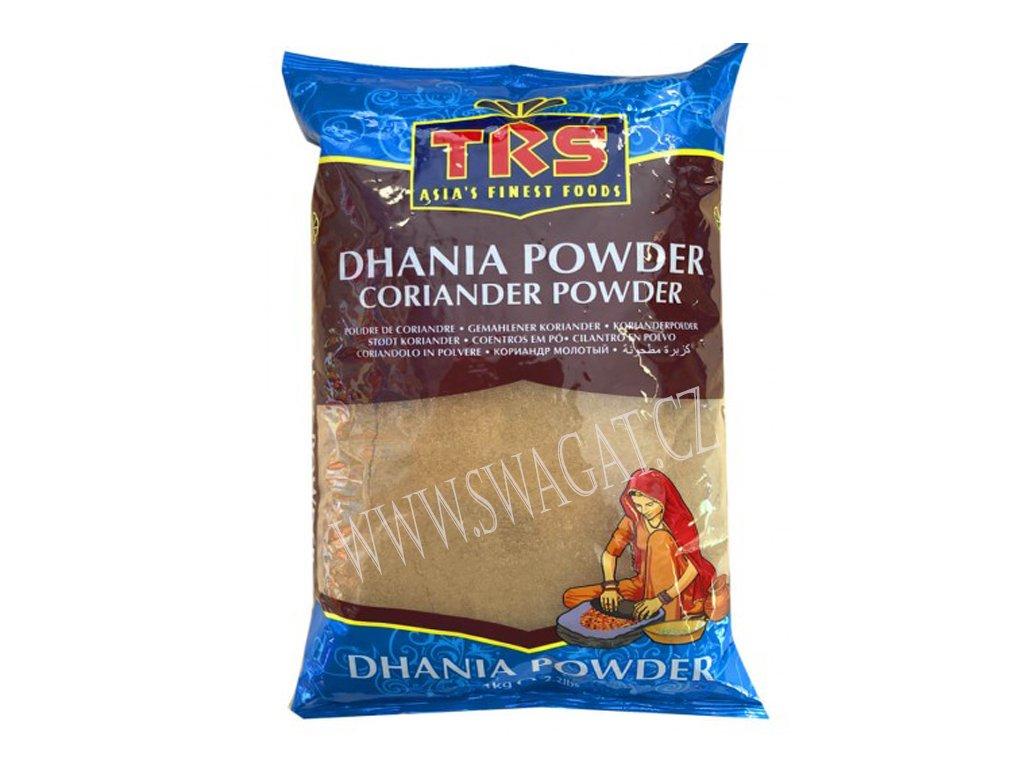 Dhania - koriandr mletý (Coriander Powder), TRS 1Kg