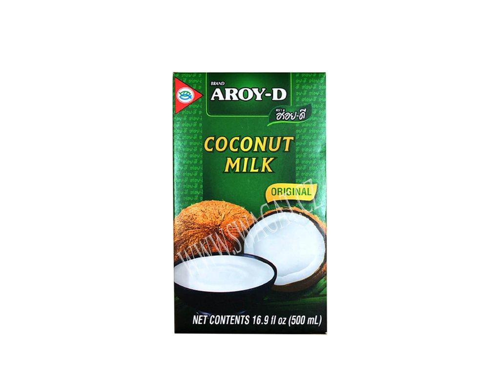 100% Kokosové mléko, AROY-D 500ml