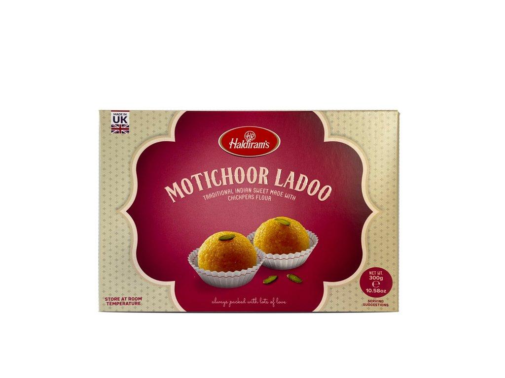 Indický dezert Motichoor Ladoo, HALDIRAM'S 300g