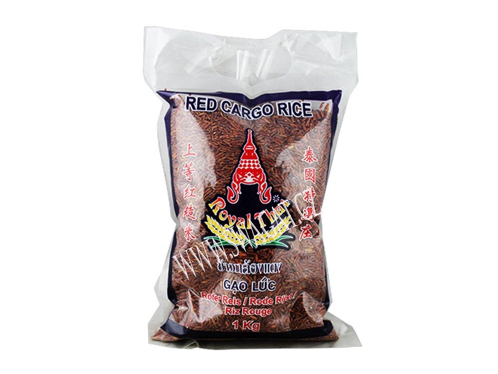Čevená Cargo rýže, ROYAL THAI 1Kg