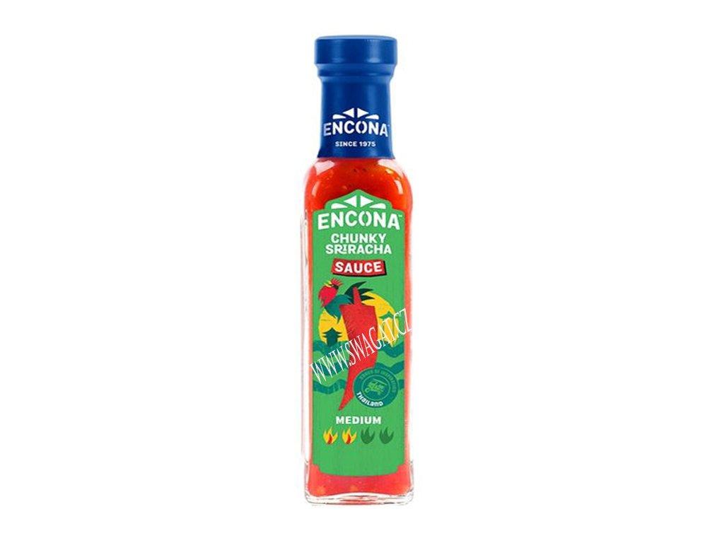 Chunky Sriracha omáčka, ENCONA 142ml