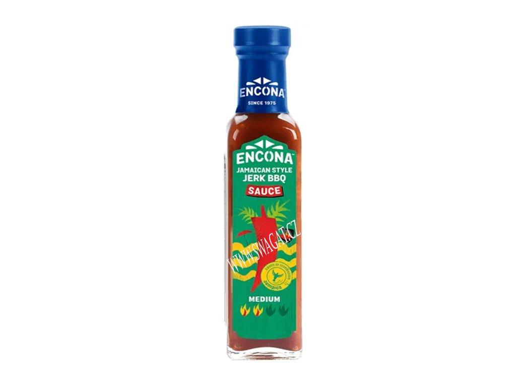 Jamajská BBQ omáčka, ENCONA 142ml