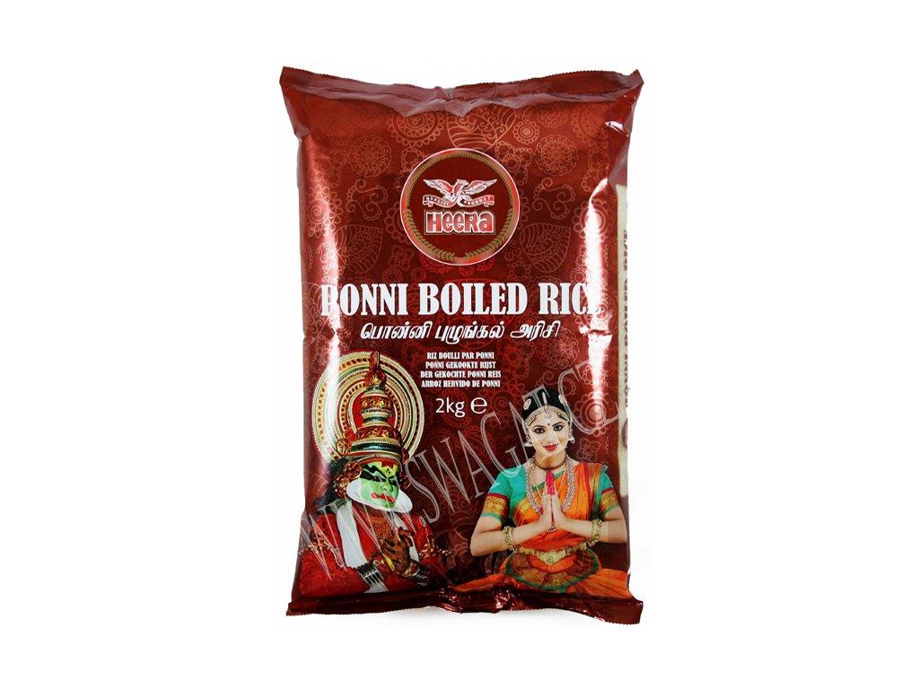 Rýže Ponni Boiled, HEERA 2Kg
