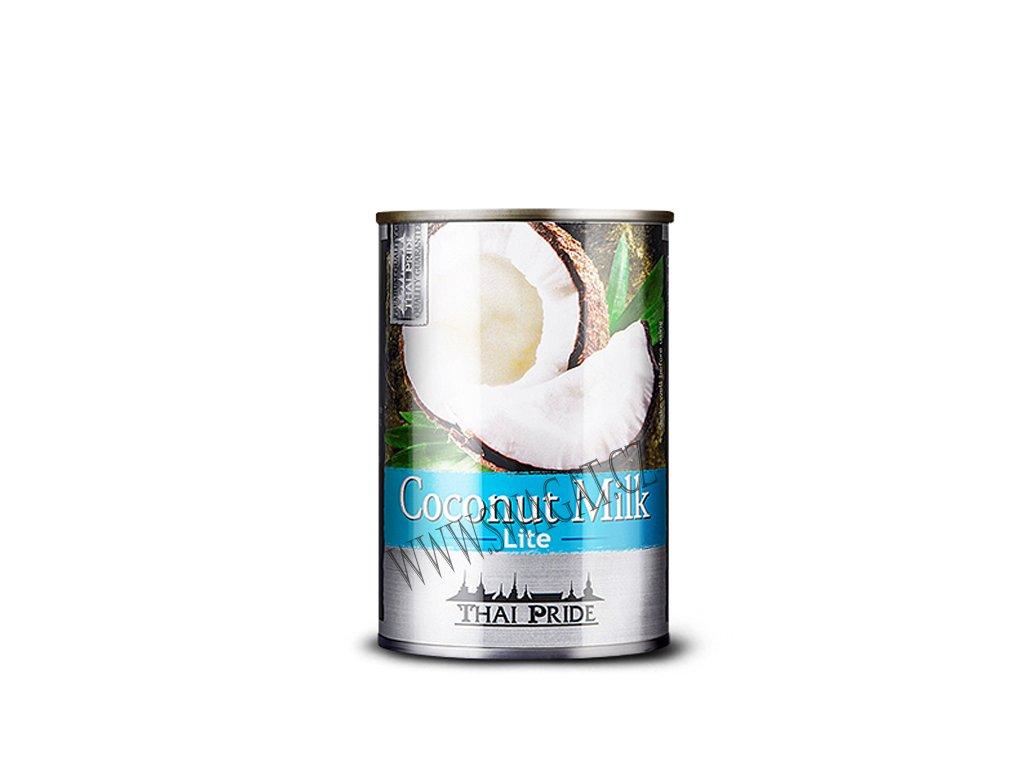 Kokosové mléko Light (Coconut Milk), THAI PRIDE 400ml