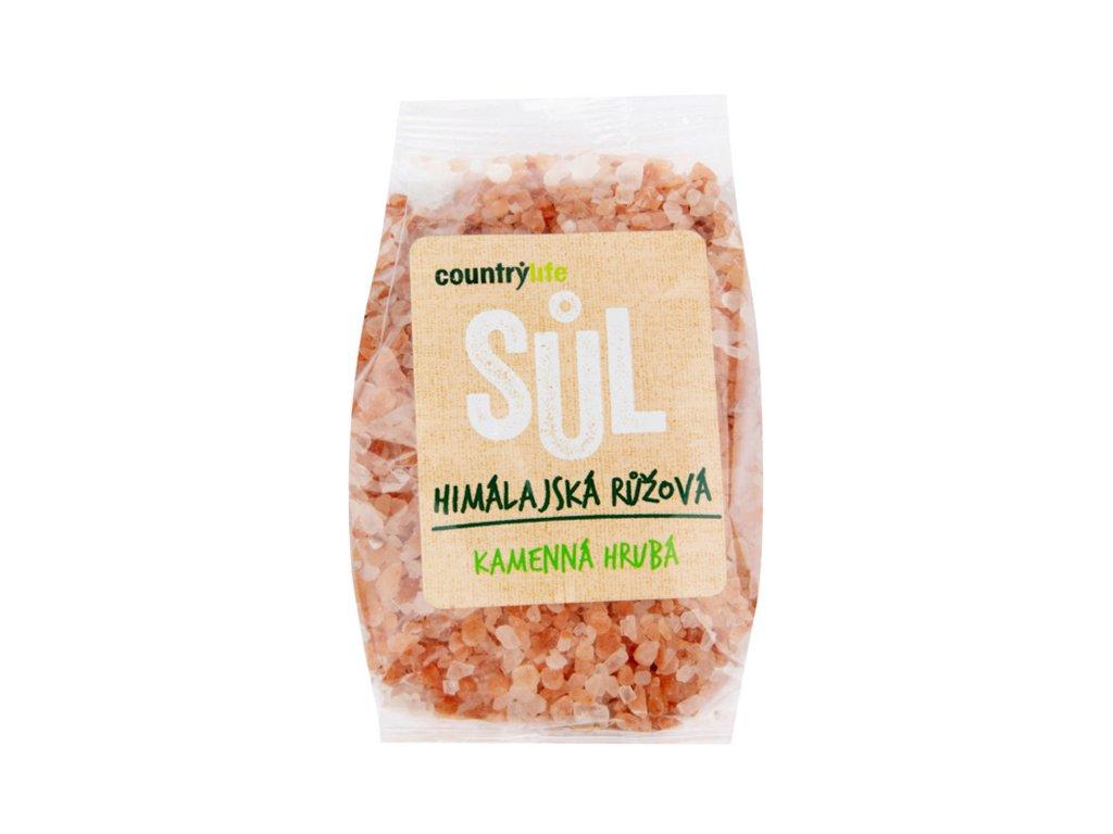 Růžová himalájská sůl hrubá, COUNTRY LIFE 500g