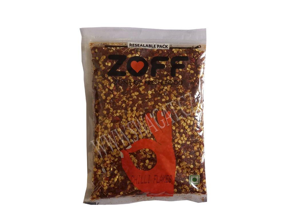 Drcené chilli (Crushed Chilli), ZOFF 100g