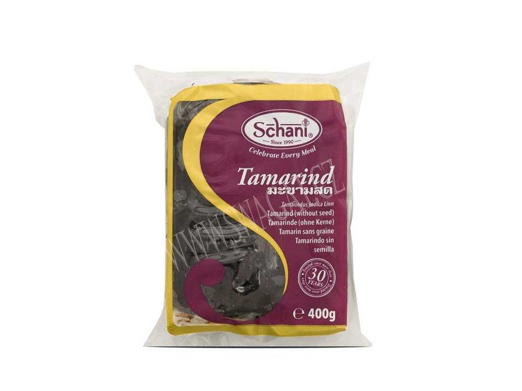 Tamarind bez pecek (Seedless), SCHANI 400g