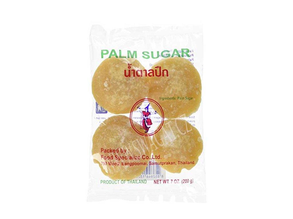 Palmový cukr (Palm Sugar), THAI DANCER 200g