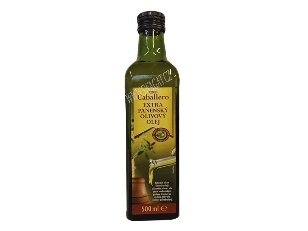 Extra panenský olivový olej (Extra Virgin Olive Oil), CABALLERO 500ml