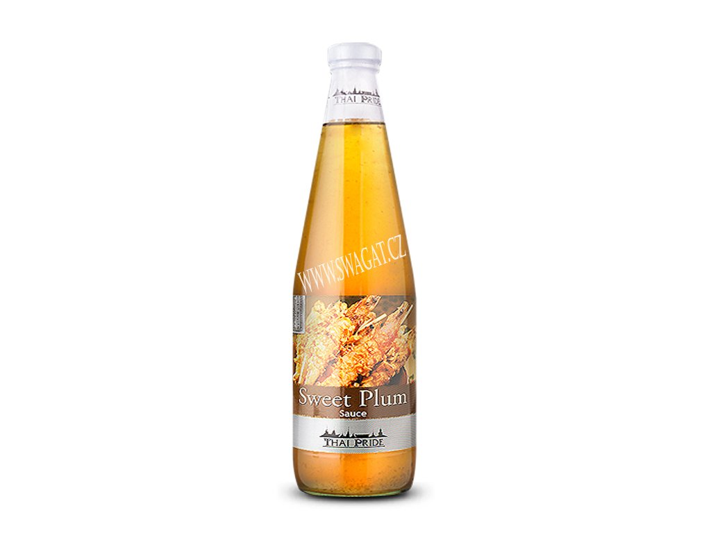 Sladká švestková omáčka (Sweet Plum Sauce), THAI PRIDE 295ml