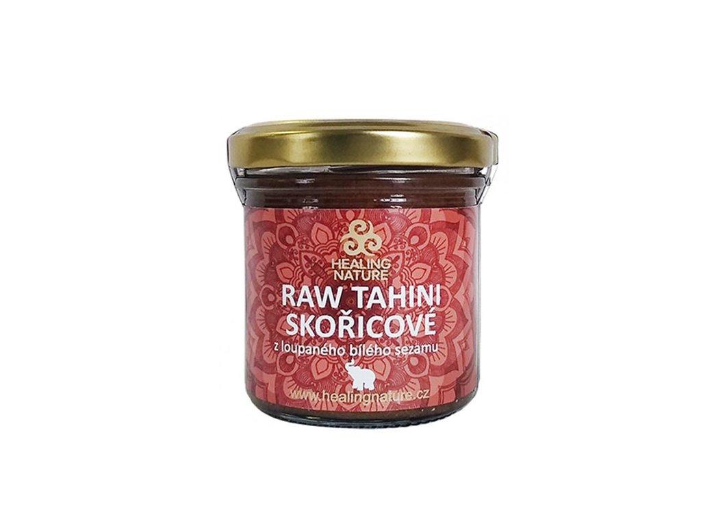 RAW Tahini skořícové (Raw Tahini Cinnamon) 165ml