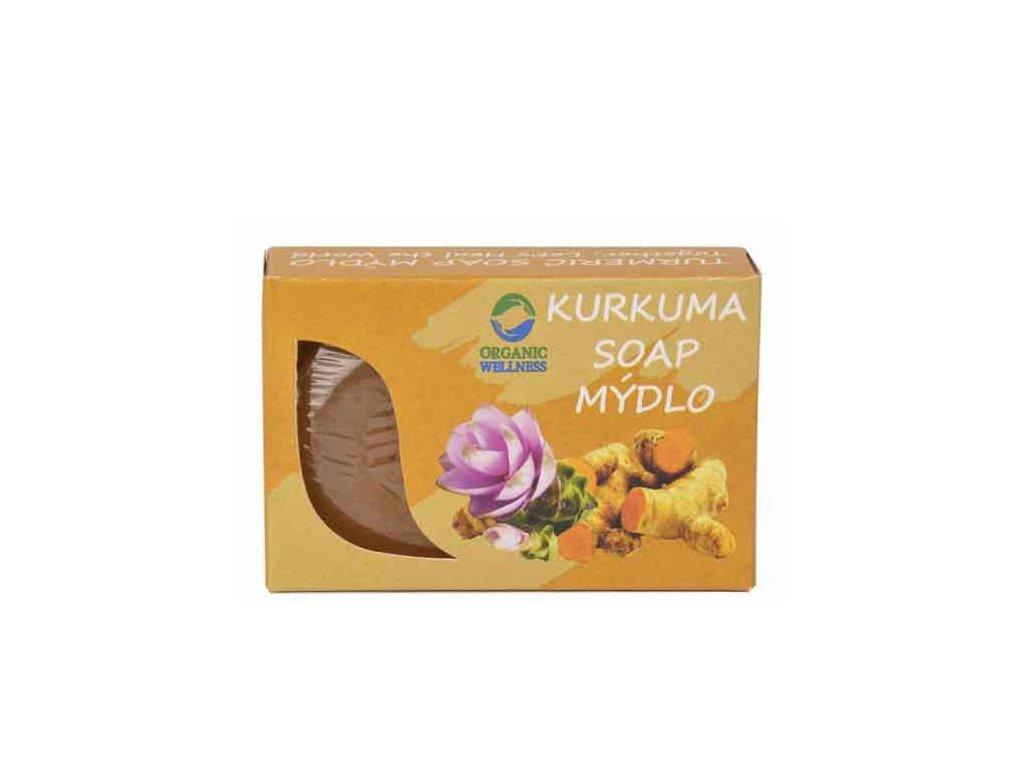 Ájurvédské mýdlo s kurkumou (Turmeric Soap), OW 70g
