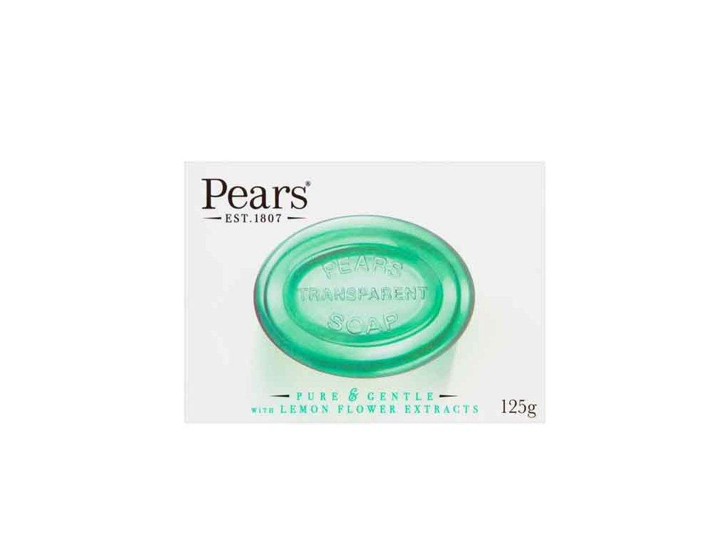 Glycerinové transparentní mýdlo s extrakty z citronových květů PEARS 125g