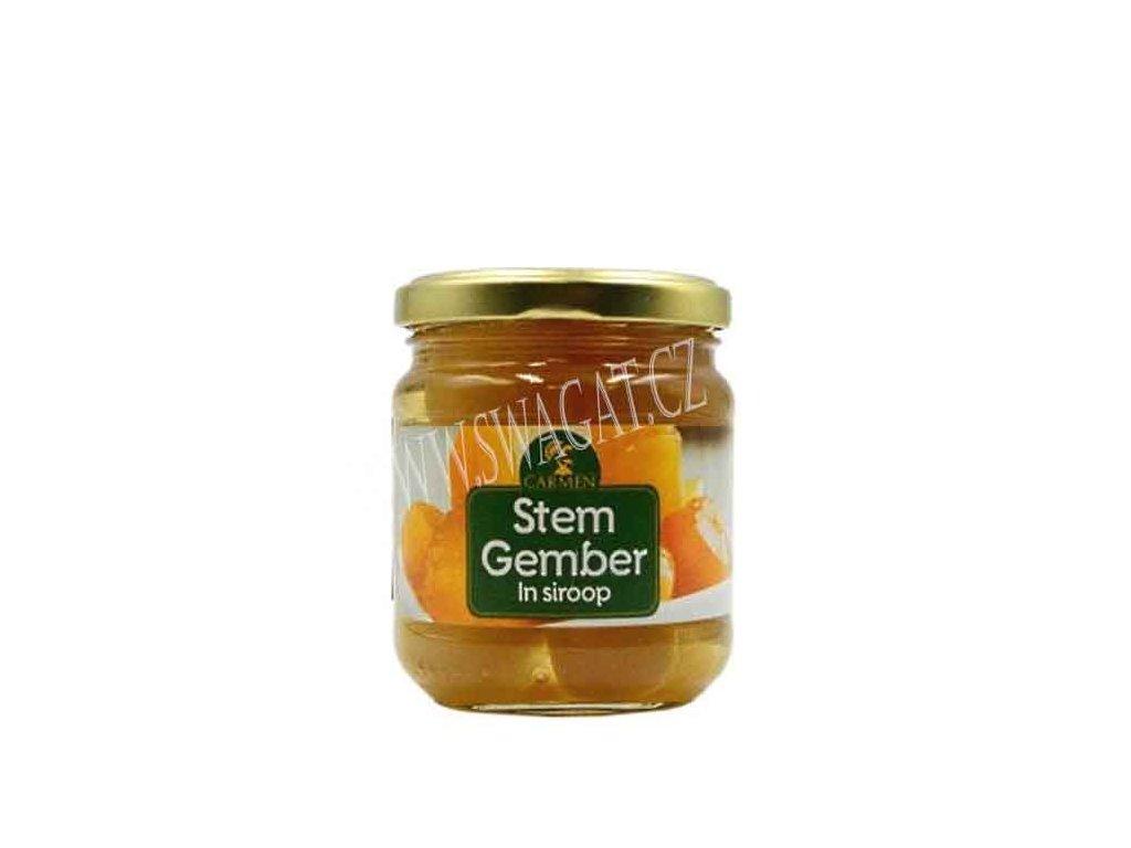 Zázvor v sirupu (Ginger in Syrup), CARMEN 240g