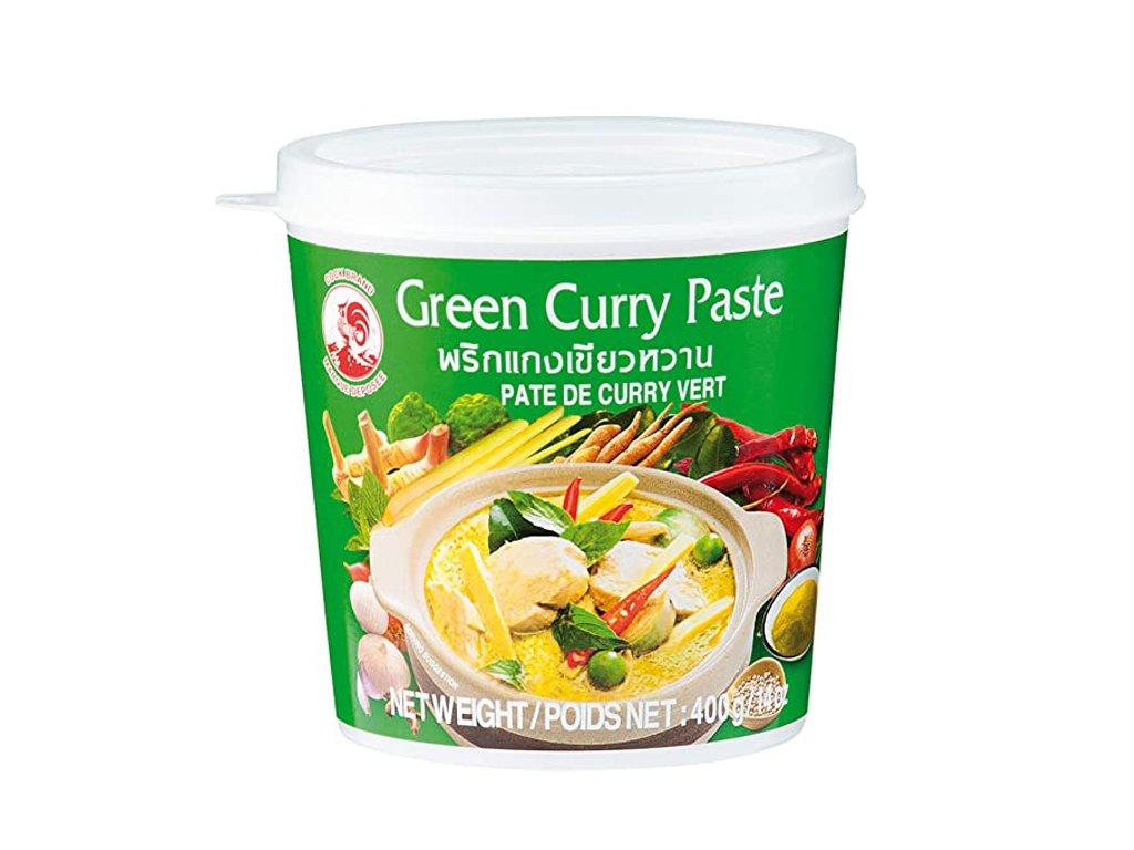 Zelená kari pasta, COCK BRAND 400g