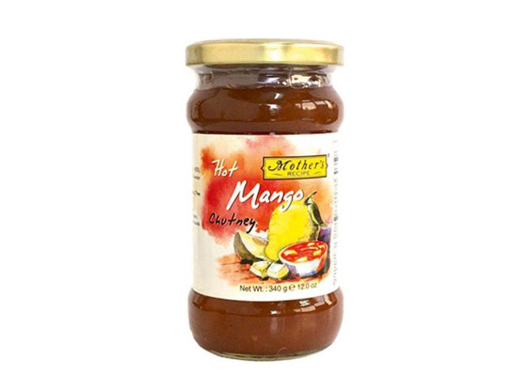 Mango Chutney ostrý (Hot), 340g