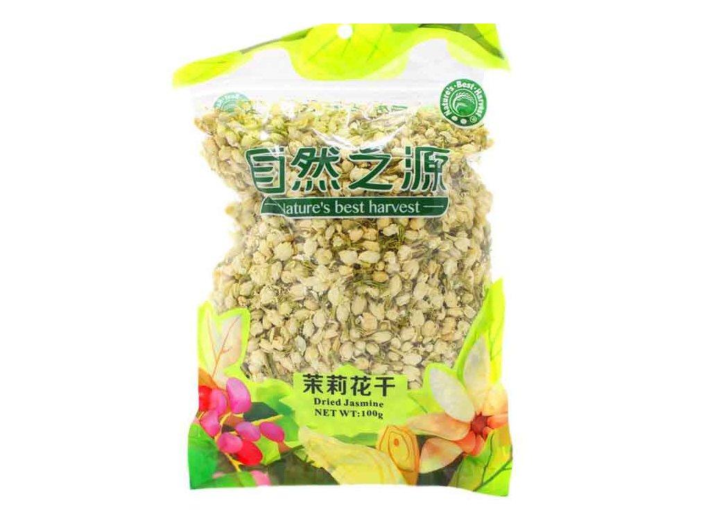 Sušené jasmínové květy (Fried Jasmine), 100g