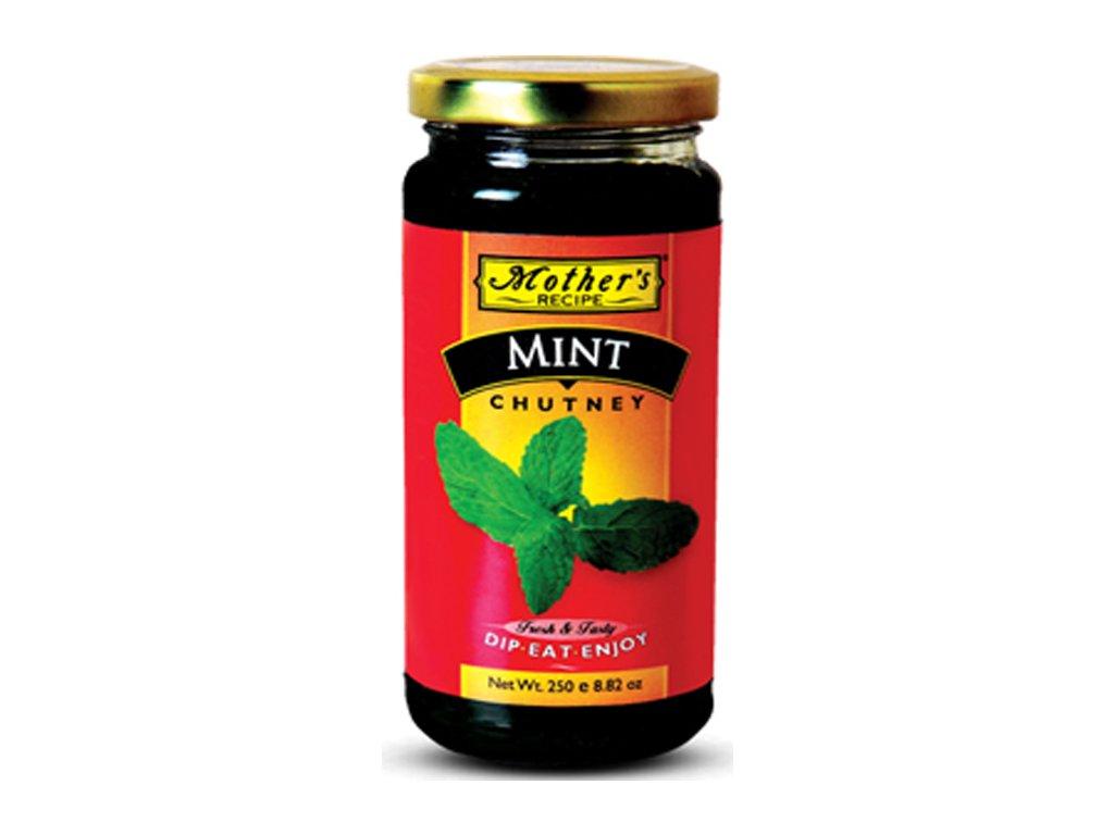 Mátové čatní (Mint chutney), Mother`s Recipe 250g