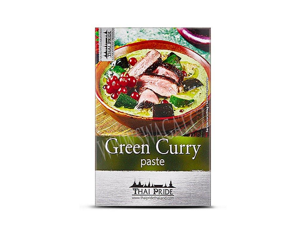 Zelená kari  pasta, THAI PRIDE 50g