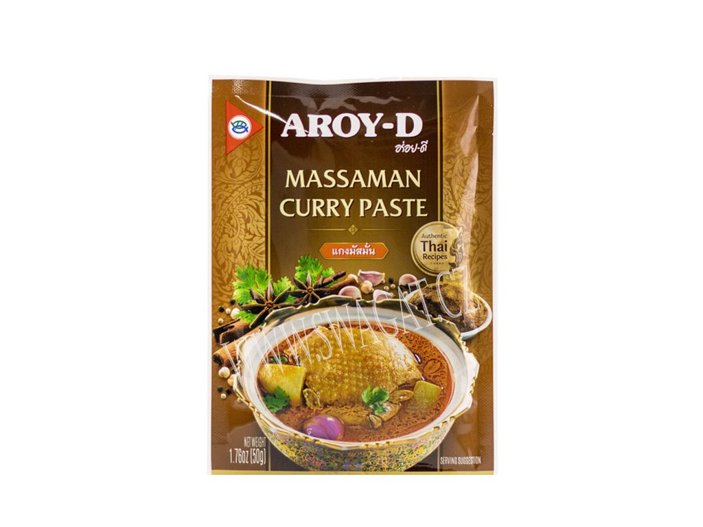 Massaman kari pasta (Curry Paste), AROY-D 50g