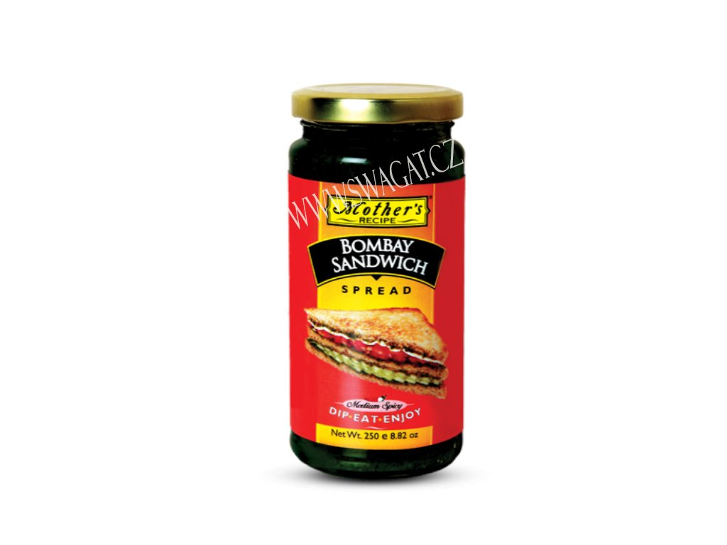 Bombay Sandwich Chutney,  Mother`s Recipe 250g