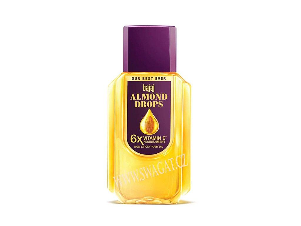 Mandlový olej na vlasy (Almond Drops), BAJAJ 200ml