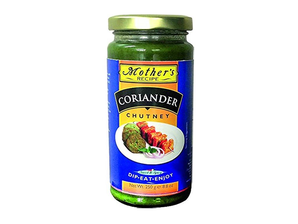 Koriandrový Chutney (Coriander Chutney), Mother`s Recipe 250g
