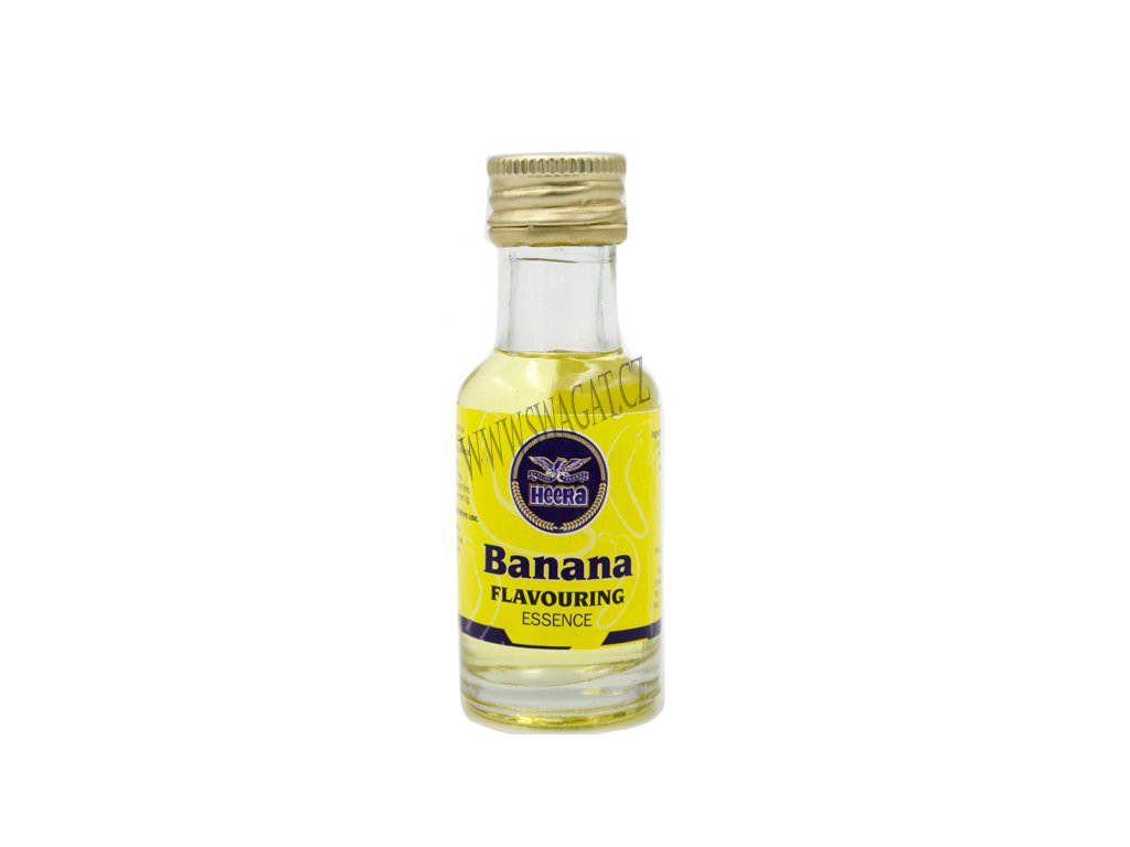 Banánová aromatická esence (Banana flavouring essence), HEERA 28ml