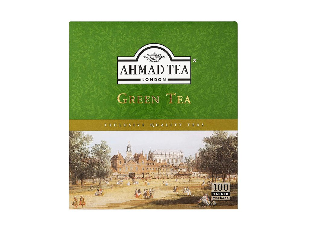 Zelený čaj, AHMAD TEA 100 sačků