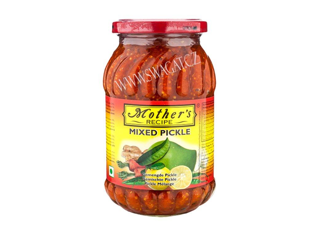 Naložená pikantní zelenina s ovocem (Mixed Pickle), Mother`s Recipe 500g