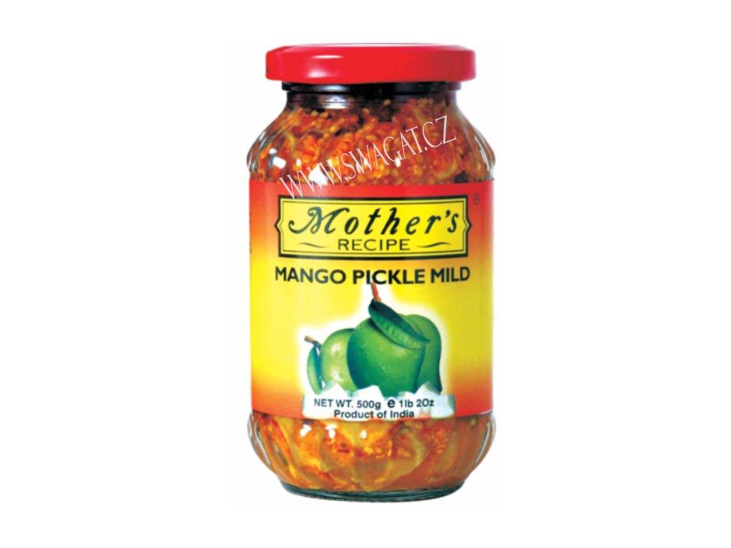 Nakládaný Mango jemně pikantní, MR 500g