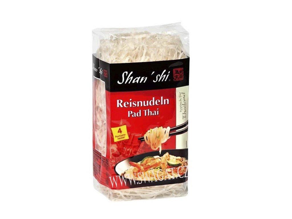 Rýžové nudle Pad Thai, SHAN'SHI 250g