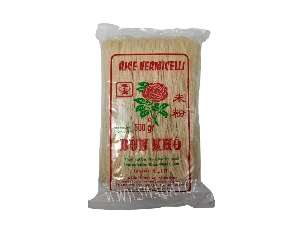 Rýžové nudle, BÚN KHO 500g