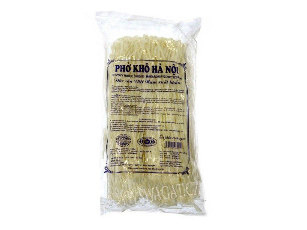 Rýžové nudle široké, 500g